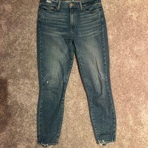 Paige Hoxton crop jean